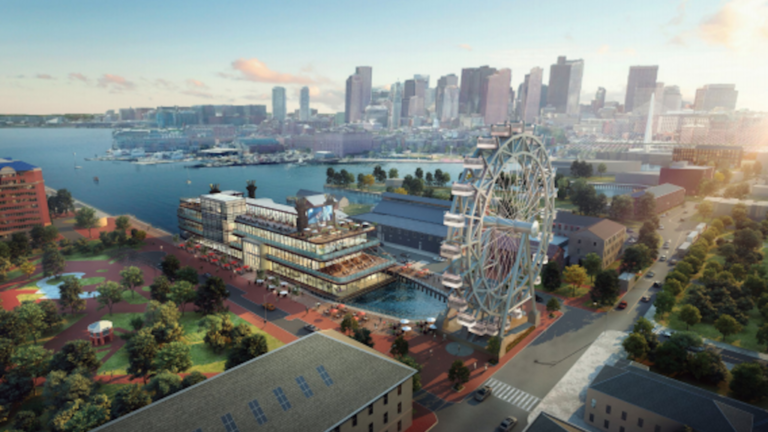 Ferris wheel part of proposal weighed for Charlestown Navy Yard