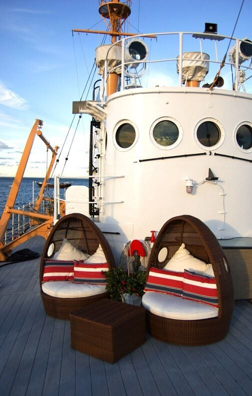 Want to live on this Nantucket lightship? Now's your chance.