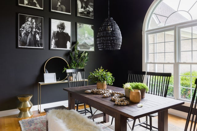 Ready for the new neutral in home decor? It's black.