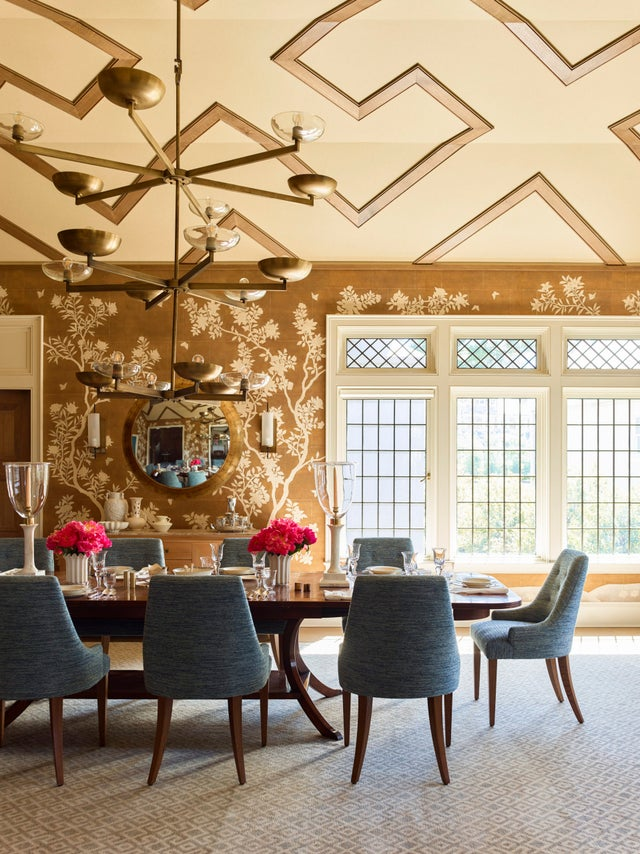 Want a bold look in your home? Look up. Tips for dressing up your ceiling