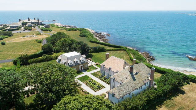 This estate on Newport's Cliff Walk sold for $9.4 million. See inside.