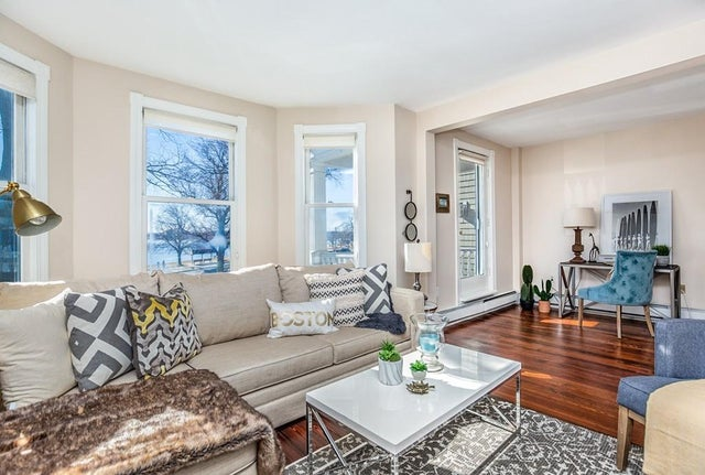 Listed: For $839,000, a three-bedroom South Boston condo overlooking the water