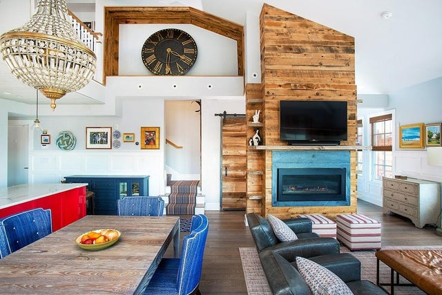 Listed: For $2.7 million, a vibrant South Boston triplex with a roof deck