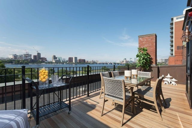 Biggest sales: A Back Bay penthouse with two private decks for $9.9 million