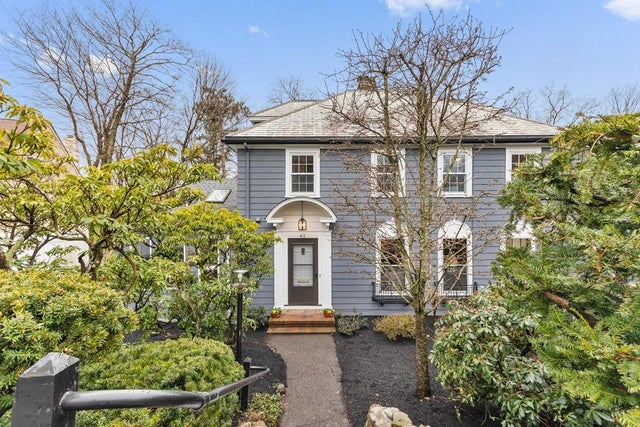 Luxury Home of the Week: Office in Newton Colonial has a separate entrance