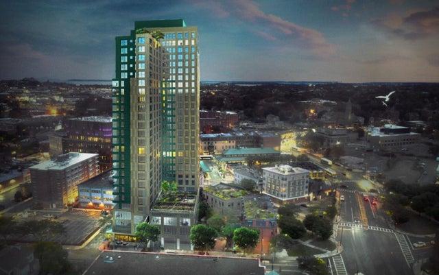 A major Roxbury development touts its proximity to the T