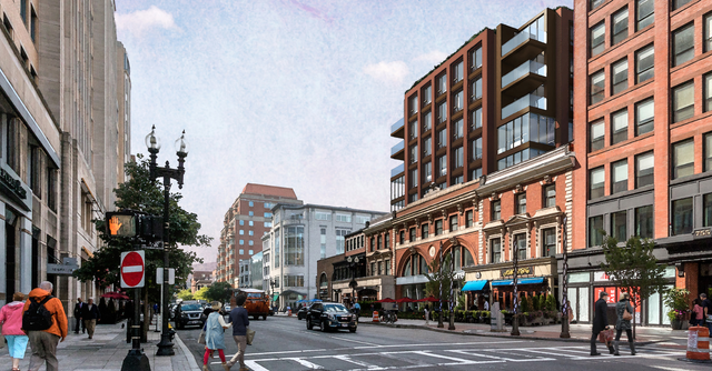 Boylston Street stretch would gain five stories but keep historic facades in proposed project
